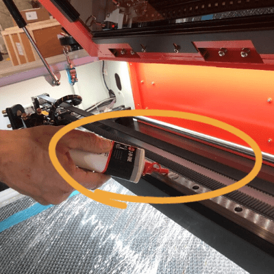 Lubricating Your Laser