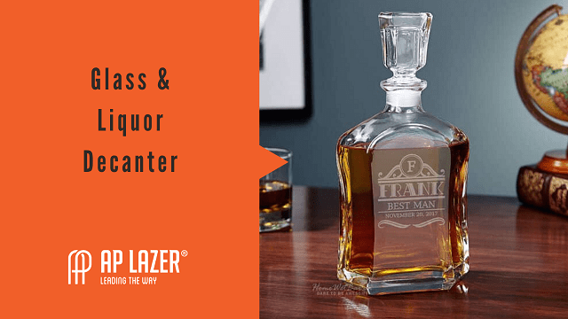 glass and liquor decanter