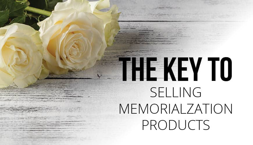 Displaying Your Memorialization Products