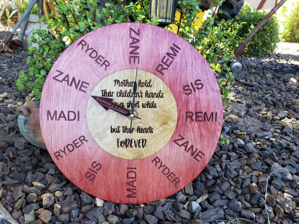 Mother's Day Clock