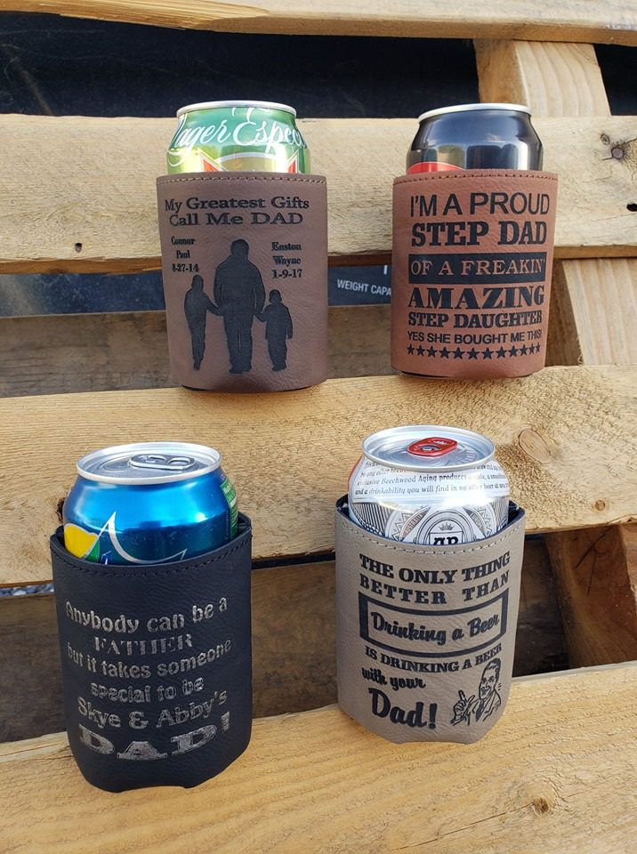 father's day koozies