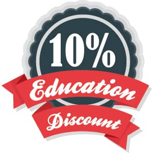 education discount for laser machine
