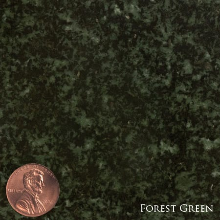 Forest Green Granite Triangle Name Plate-1229