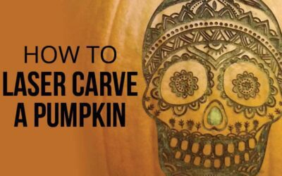 HOW TO: Laser Carve a Pumpkin in 6 Easy Steps
