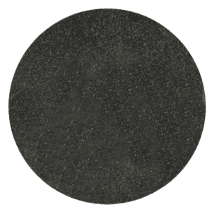 "Jet Black Granite Circle Plaque 10"" diameter x 3/8"" Thick-0"