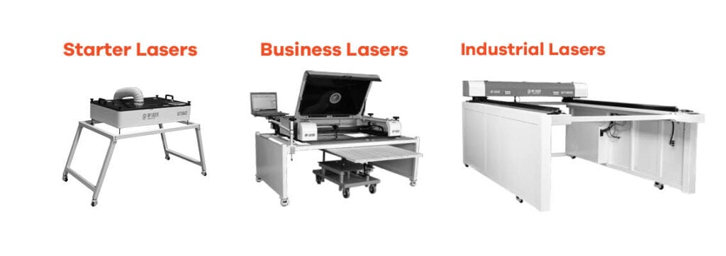 Starter Lasers, Business Lasers And Industrial Lasers