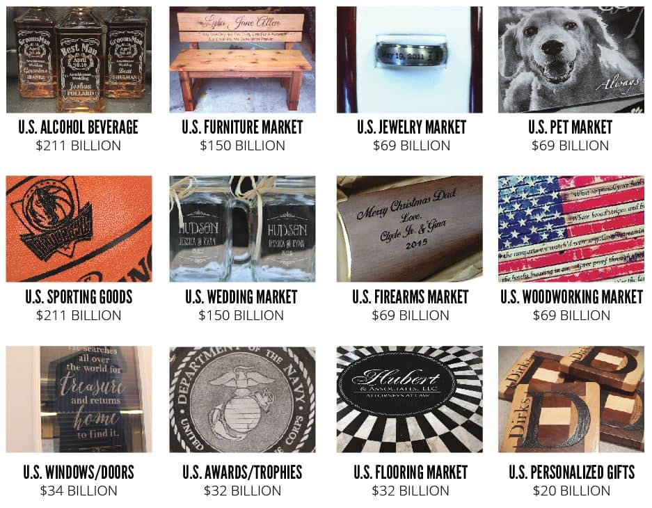 materials for laser engraving and cutting