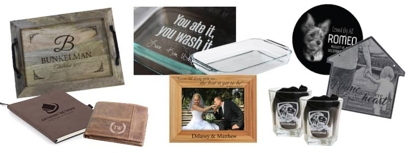 laser engraved personalized gifts