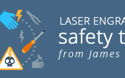 Laser Engraving Safety Tips from James Bond