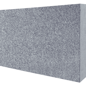 "Super Gray Granite Flat Pet Marker 2"" Thick - Blank-0"