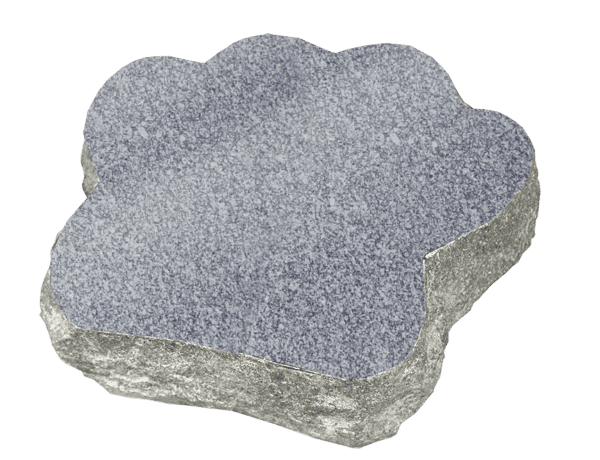 Granite Paw Marker 2&Quot; Thick-1216