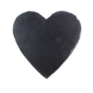 "Slate Heart Plaque: 10"" X 10""-0"