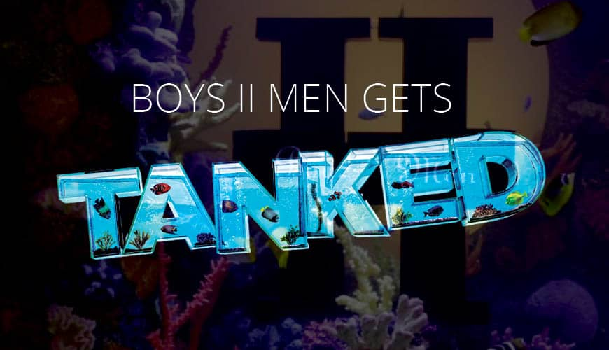 "Boys II Men Gets ""Tanked"" With the Help of AP Lazer"