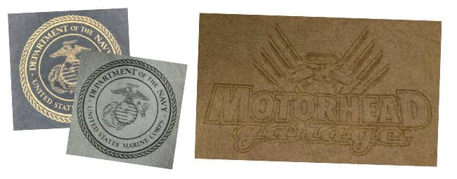 laser engraving textiles and fabric